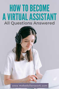 Pin: Become a Virtual Assistant