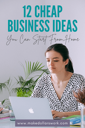 Pin: Cheap Online Business Ideas