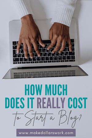 Pin: How much does it cost to start a blog